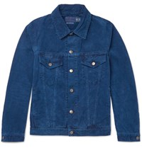 Blue Blue Japan Indigo Dyed Cotton Corduroy Jacket Indigo