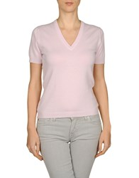 Ballantyne Cashmere Sweaters Light Pink