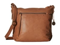 The Sak Sierra Small Bucket Almond Satchel Handbags Brown