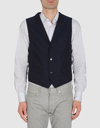 Coming Soon Suits And Jackets Waistcoats Men Dark Blue