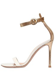 Gianvito Rossi 100Mm Two Tone Leather Sandals