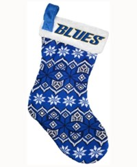 Forever Collectibles St. Louis Blues Ugly Sweater Knit Team Stocking