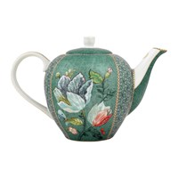 Pip Studio Spring To Life Teapot Green Large