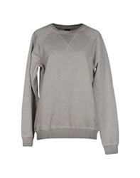 People Topwear Sweatshirts Women Grey
