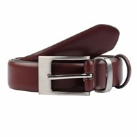 Dents Mens Classic Leather Belt Chestnut