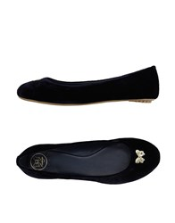 Atelier Fixdesign Footwear Ballet Flats Women Dark Blue