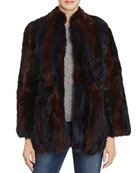 525 America Fur Jacket Black Combo