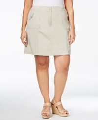 Karen Scott Plus Size Skort Only At Macy's Stonewall