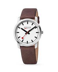 Mondaine Simply Elegant Watch 41Mm White