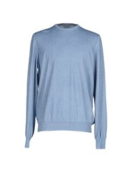 Gran Sasso Knitwear Jumpers Men Sky Blue