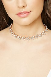 Forever 21 Rhinestone Collar Necklace