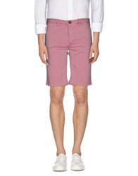 Fred Mello Trousers Bermuda Shorts Men Pink