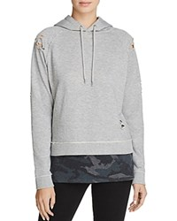 Generation Love Leo Twofer Hoodie Grey