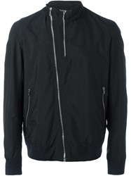 Christian Dior Homme Zipped Lightweight Jacket Blue