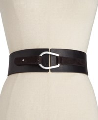 Inc International Concepts Mixed Media Pullback Stretch Belt Only At Macy's