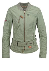 Khujo Gloss Summer Jacket Olive
