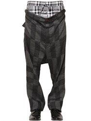 Vivienne Westwood Layered Plaid And Checkered Pants