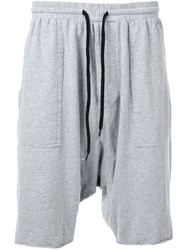 Bassike 'Military' Jersey Short Grey