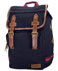 Tommy Hilfiger Canvas Backpack Navy