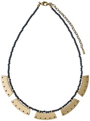 Pilgrim Grey And Gold Colour Necklace N A N A