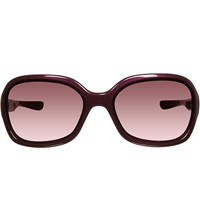 Oakley Pulse Sunglasses With Polarised Rasberry Tinted Lenses Oo9198 Raspberry Spritzer