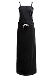 Twintip Maxi Dress Black