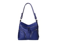 French Connection Beatrix Hobo Monarch Blue Hobo Handbags