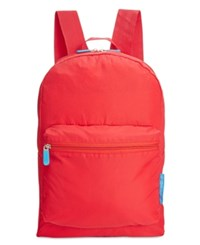 Flight 001 Expandable Backpack Red