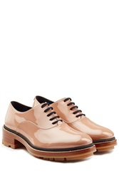 Jil Sander Patent Leather Oxfords Rose