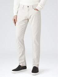 Reiss Maurice Twill Slim Jeans Stone