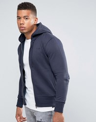 Firetrap Zip Through Hoodie Navy