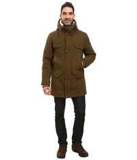 Rainforest Selawik Fishtail Parka Military Men's Coat Olive