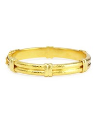 Elizabeth Locke 19K Gold Banded Bangle Bracelet