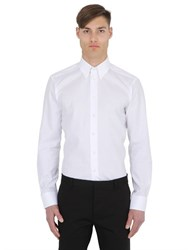 Eton Slim Fit Cotton Poplin Button Down Shirt