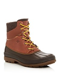 Sperry Cold Bay Sport Lace Up Boots Tan