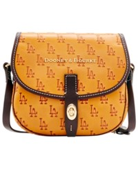 Dooney And Bourke Los Angeles Dodgers Leather Field Bag Royalblue