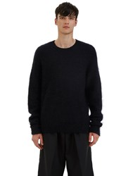 Acne Studios Kosti Mohair Crew Neck Sweater Black