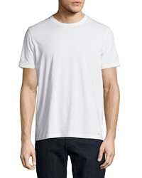 Michael Kors Crewneck Short Sleeve Jersey Tee White