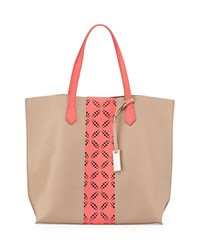 Urban Originals Take The Leap Tote Bag Camel Coral