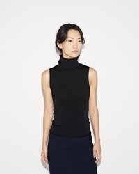 Acne Studios Riia Sleeveless Turtleneck Black