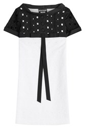 Boutique Moschino Cotton Dress White