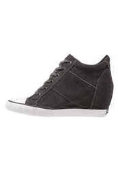 Calvin Klein Jeans Voss Trainers Ebony Anthracite