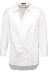 R 13 R13 Cotton Shirt White