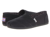Bobs From Skechers Bobs Plush Peace And Love Black Women's Shoes
