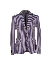 Messagerie Suits And Jackets Blazers Men Maroon