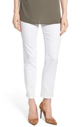 Women's Nydj 'Millie' Pull On Stretch Ankle Skinny Jeans Endless White
