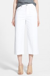 Women's 7 For All Mankind Twill Gaucho Pants Runaway White