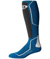Icebreaker Ski Medium Otc 1 Pair Pack Alpine Monsoon Snow Men's Crew Cut Socks Shoes Blue
