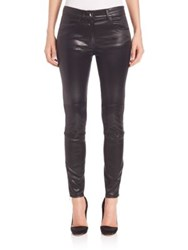 Giamba Vegan Leather Pants Black
