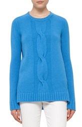 Akris Punto Women's Braid Front Wool And Cashmere Sweater